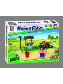 Конструктор JILEBAO Happy Farm «Колодец в саду» 6004 / 88 деталей