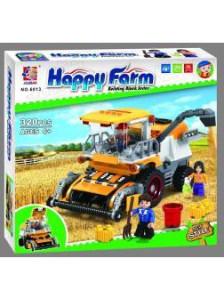 Конструктор JILEBAO Happy Farm «Комбайн для сбора урожая» 6013 / 320 деталей