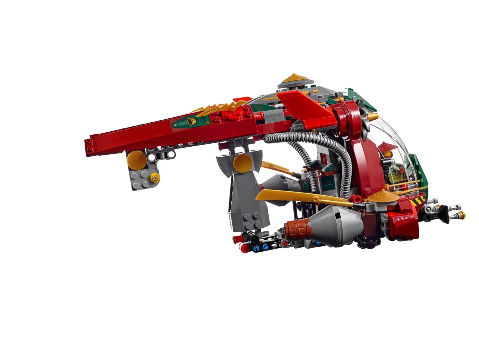 Конструктор «Корабль R.E.X. Ронана» 10398 (70735), 546 деталей