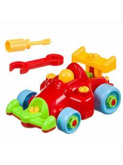 Конструктор-машина (отвертка, ключ), Play Smart 7090 Детская мастерская