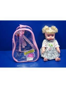 Кукла Play Smart «Алина» говорящая 19 см. в рюкзаке / 5246