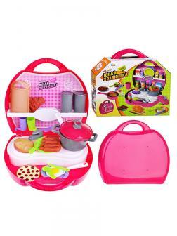 Игровой набор Play Smart «Юная хозяюшка» в чемоданчике 2591ABC / 32 деталей