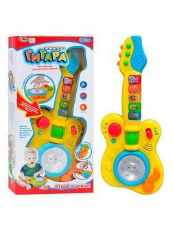 Развивающая игрушка Play Smart «Электро Гитара» на батарейках / 7319