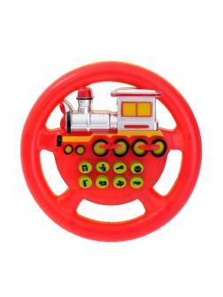 Развивающий руль Play Smart «Я тоже рулю. Паровоз» (8 функций) 2207 / Микс