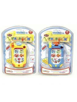 Интерактивная развивающая игрушка Play Smart «Чудо телефон» со звуком и светом 7434 / Микс