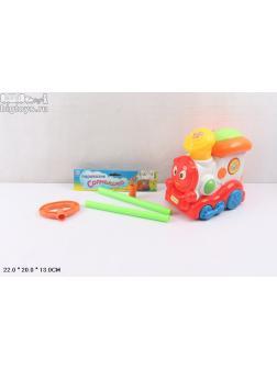 игрушка-каталка паравозик 'Солнышко'