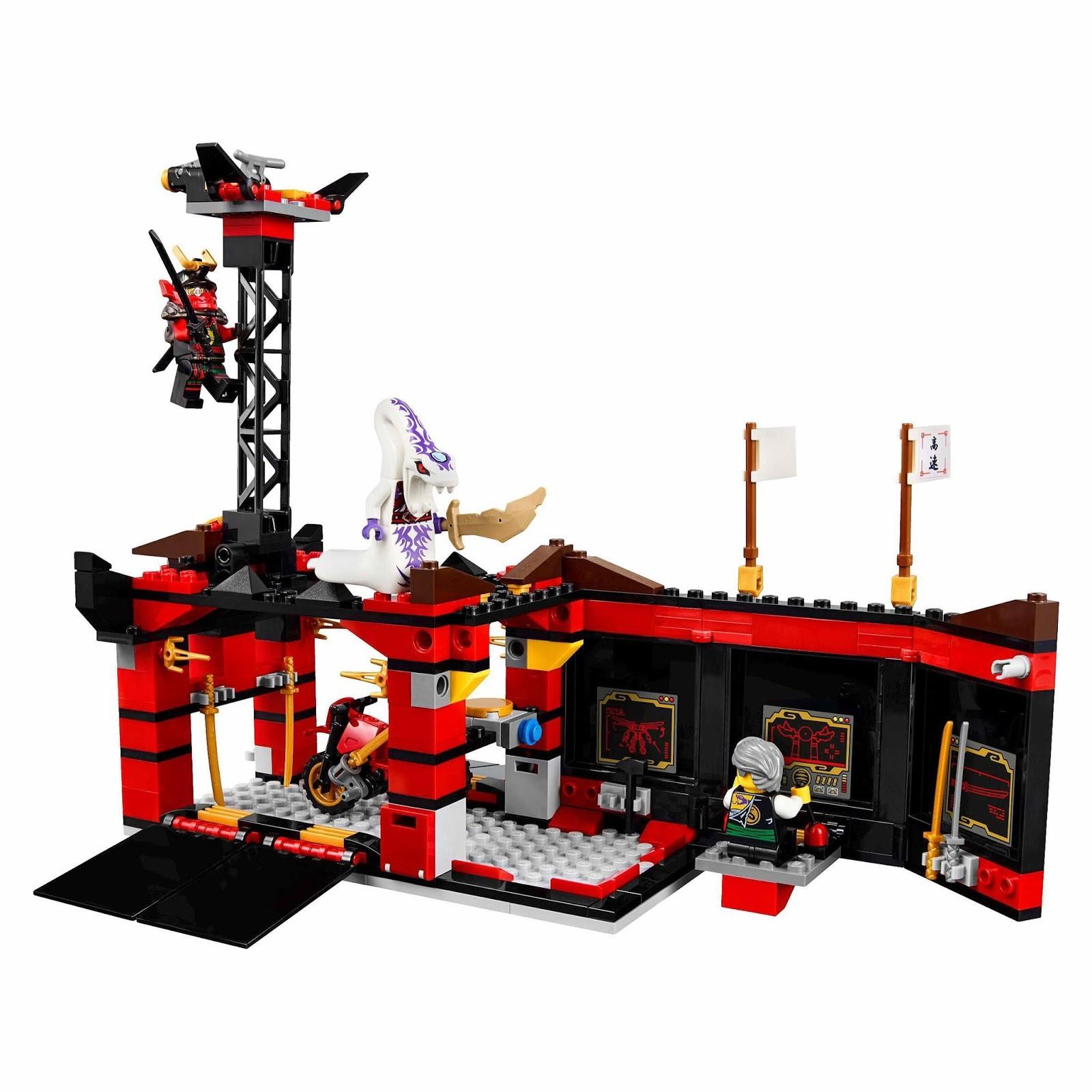 Конструктор Bl «Мобильная база Ниндзя» 10325 (НиндзяГо 70750) / 755 деталей