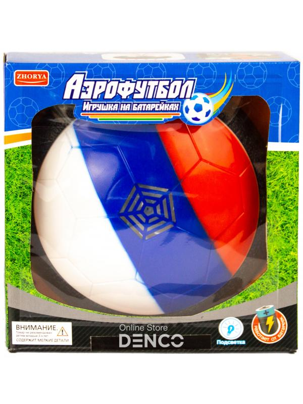 Мяч для аэрофутбола Zhorya со светом на батарейках / ZYB-B2724-3B