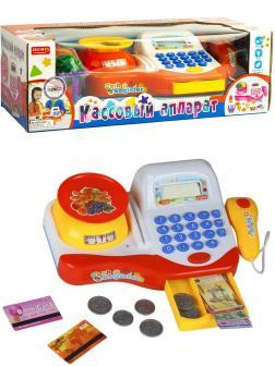 Игровой набор Zhorya «Кассовый аппарат» ZYB-B2624-2 со светом, звуком, 20 аксессуаров