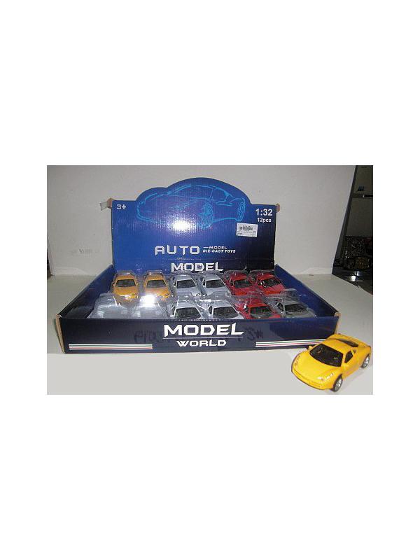 Металлическая машинка 1:32 «Model World» F1052-1-2M инерционная / Микс