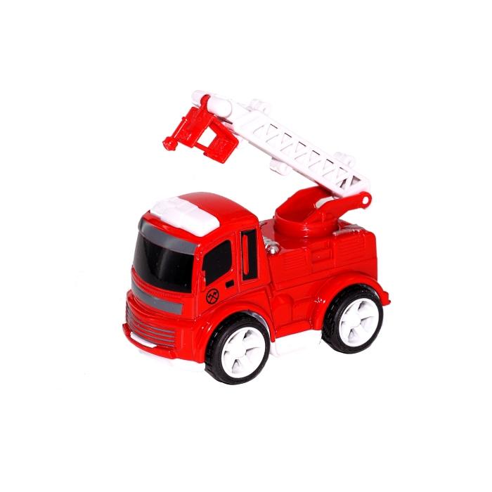 Металлическая машинка «Пожарная техника» 8 см. 0783-37 инерционная / Микс