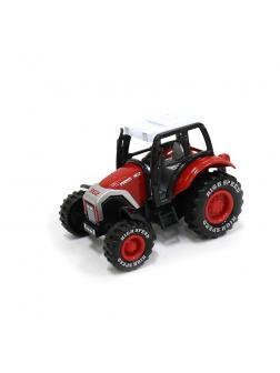 Металлическая машинка «Фермерский трактор» 14,5 см. 955-92 инерционная