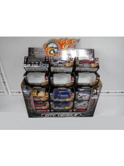 Металлическая машинка 1:64 «City vehicle» JP3109C / Микс