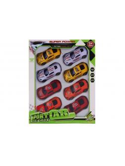 Металлическая машинка «Power car» 3915 / Комплект