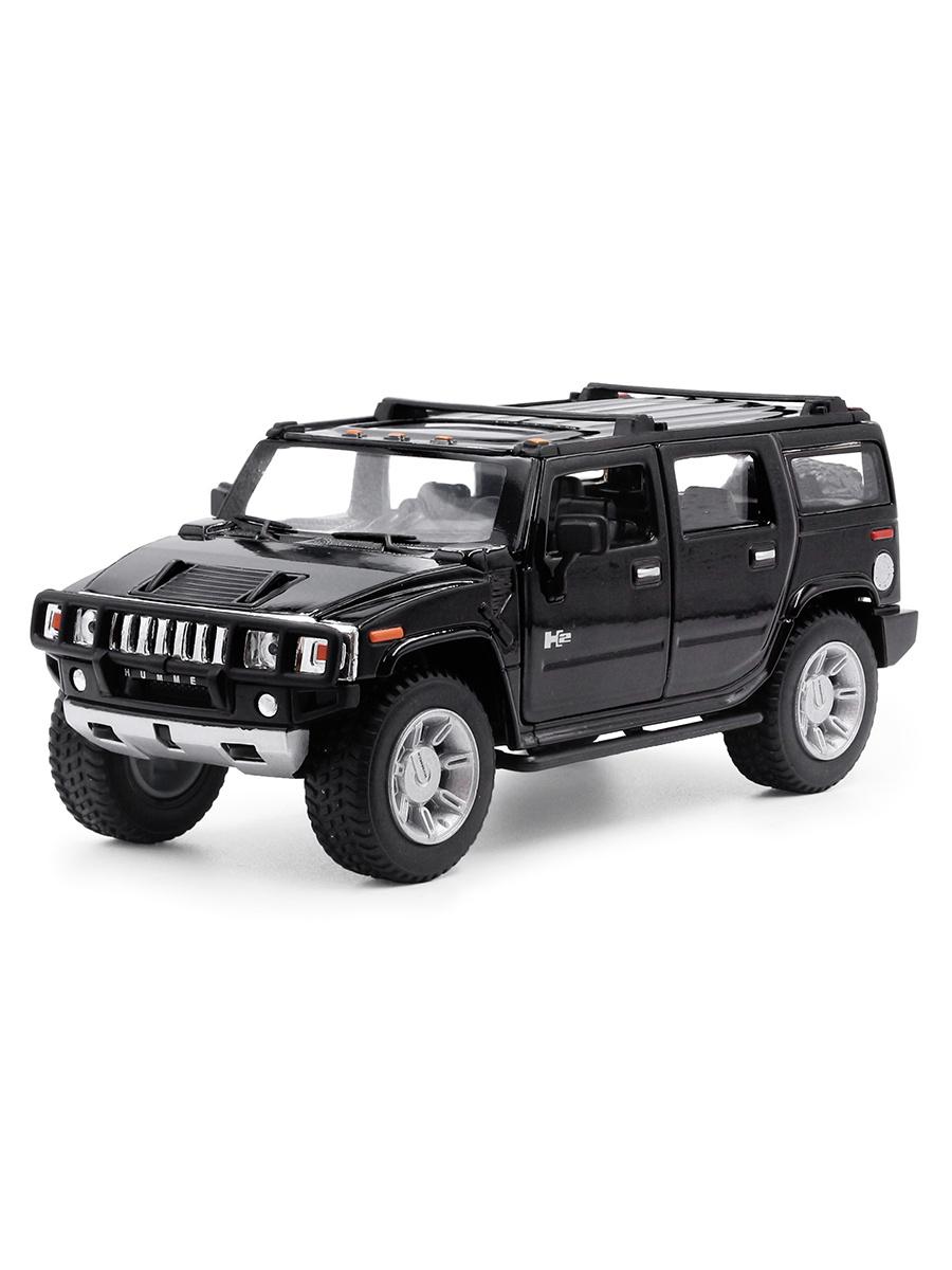 Металлическая машинка 1:32 «2008 Hummer H2» 853D свет и звук / Микс