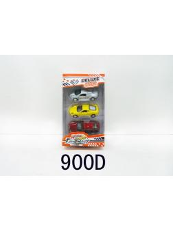 Набор металлических машинок 1:64 «Deluxe car» 900D