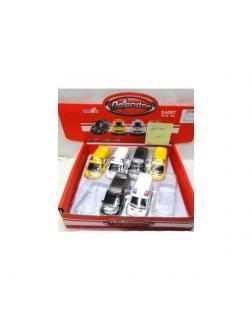 Металлическая машинка «Спецслужба» (полиция/скорая/почта) M8628-012 / Микс