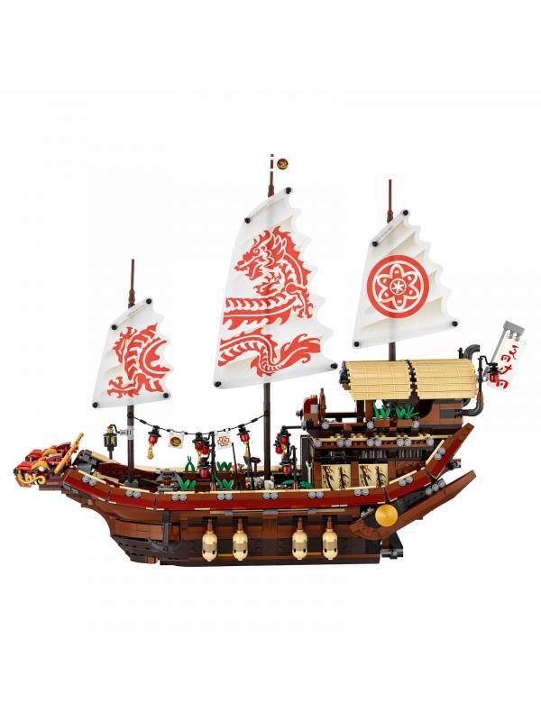 Конструктор Bl «Летающий корабль Мастера Ву» 10723 (НиндзяГо 70618) / 2455 деталей