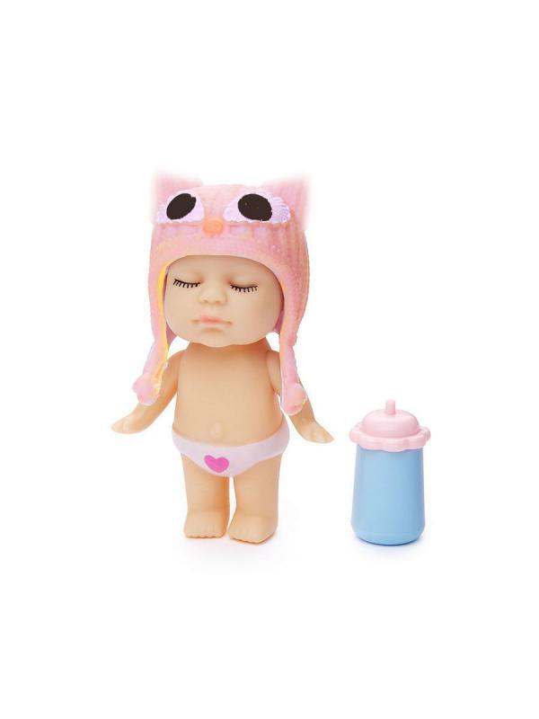 Набор из 6 кукол с бутылочкой в комплекте Infant DOLL, высота 8 см / FindusToys