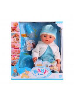 Кукла интерактивная Baby Love, высота 42 см / TONG DE