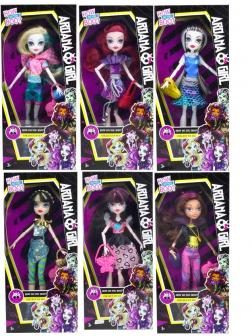 Кукла шарнирная Ardana Girl в коробке, 6 видов / ARDANA