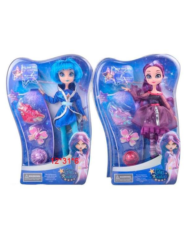Кукла шарнирная Kaibibi «Звездная принцесса» в коробке, 2 вида
