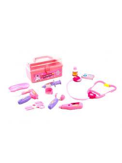 Игровой набор доктора из 12 предметов Medical Kit 6019A в 21.5х12.0х12.5 см
