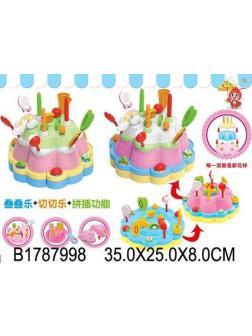 Игровой набор «Сделай торт» в коробке 35.0х23.0х7 см