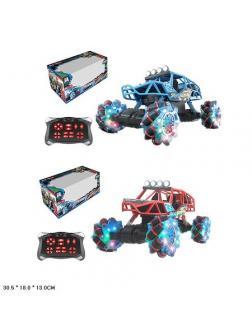 Машина на радиоуправлении со световыми и музыкальными эффектами 30.5х18.0х13.0 см в коробке