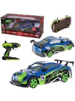 Автомобиль на радиоуправлении c камерой CRAZON Lightning Sports 1:14 4WD 2.4 GHz  в коробке 47.0х19.8х19.8 см