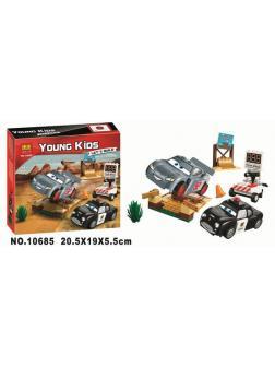 Конструктор Bl «Тренировочный полигон Вилли Бутта» (Аналог LEGO Juniors 10742) 99 деталей