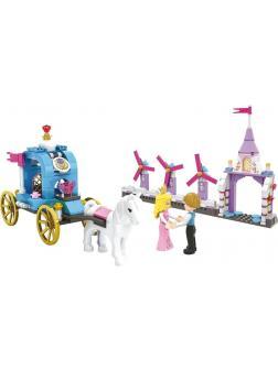 Конструктор JILEBAO «Королевская карета» 6024 (Disney Princess) / 247 деталей