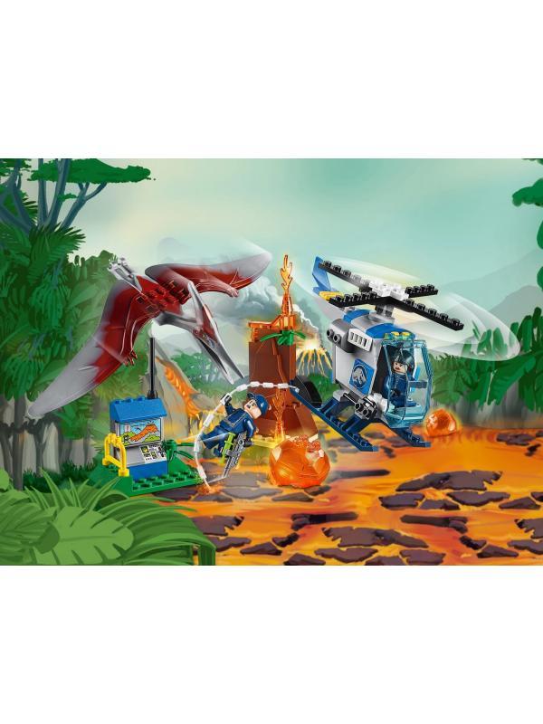 Конструктор Bl «Побег птеранодона» 10918 (Jurassic World 10756) 96 деталей