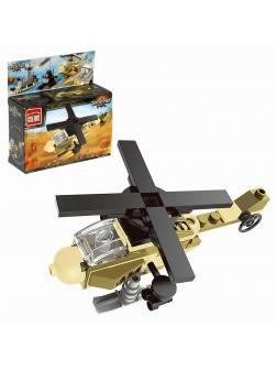 Конструктор Enlighten «Военный Вертолет» 1223 Combat Zones / 47 деталей
