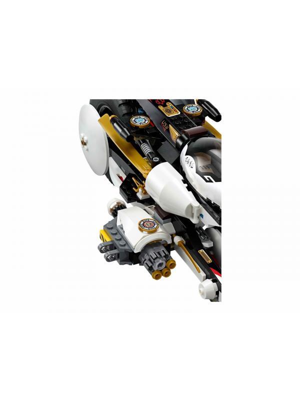 Конструктор Bl «Внедорожник с суперсистемой маскировки» 10529 (НиндзяГо 70595) / 1135 деталей