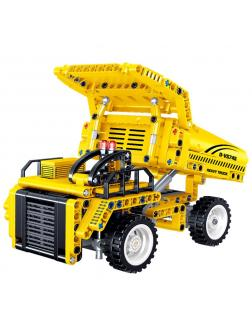 Конструктор ZHE GAO «Карьерный грузовик» QL0428 (Technic) 375 деталей