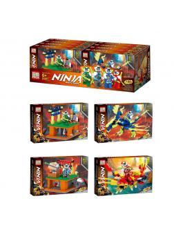 Конструктор «Ninja» 61051 / 8 штук