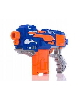 Бластер «Пулемёт» с мягкими пулями, работает от батареек / 7014A-E
