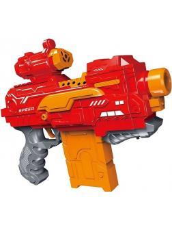 Бластер «Пулемёт» с мягкими пулями, работает от батареек / 7056A-E