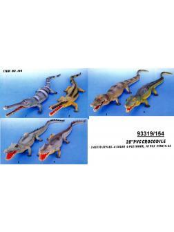 Крокодил 72см, 6 видов №154