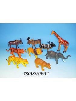 Дикие животные, 12шт в дисплее №H9914
