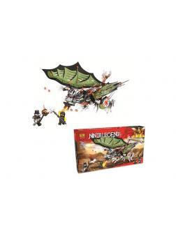 Конструктор Bl «Зелёный Дракон Ниндзя» 20011 (НиндзяГо), 385 деталей