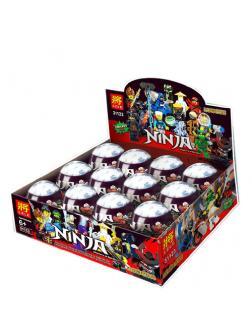 Минифигурки Ll «Ниндзя и Змеи» 31123 (НиндзяГо) набор из 12 героев в яйце