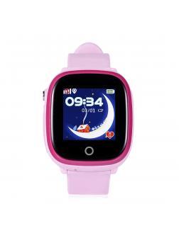 Детские Умные часы Smart Baby Watch W9s / Розовые