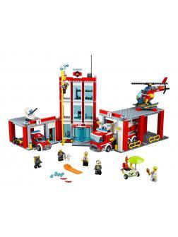 Конструктор Queen «Пожарная часть» 82038 (City 60110) / 958 деталей