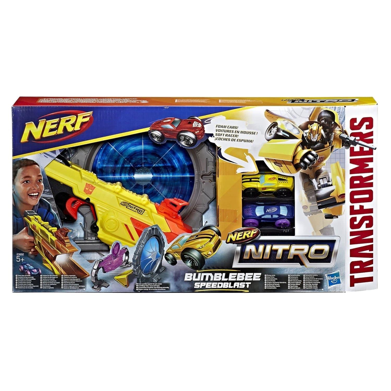 Трек-игровой Трансформер НЕРФ Нитро «Бамблби» (Nerf Nitro Bumblebee) E0892EU4 Hasbro