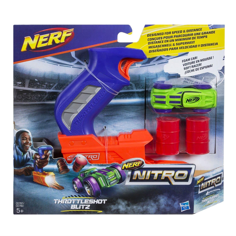 Трек-пусковое устройство Cиний НЕРФ Нитро (Nerf Nitro) C0780EU4 Hasbro
