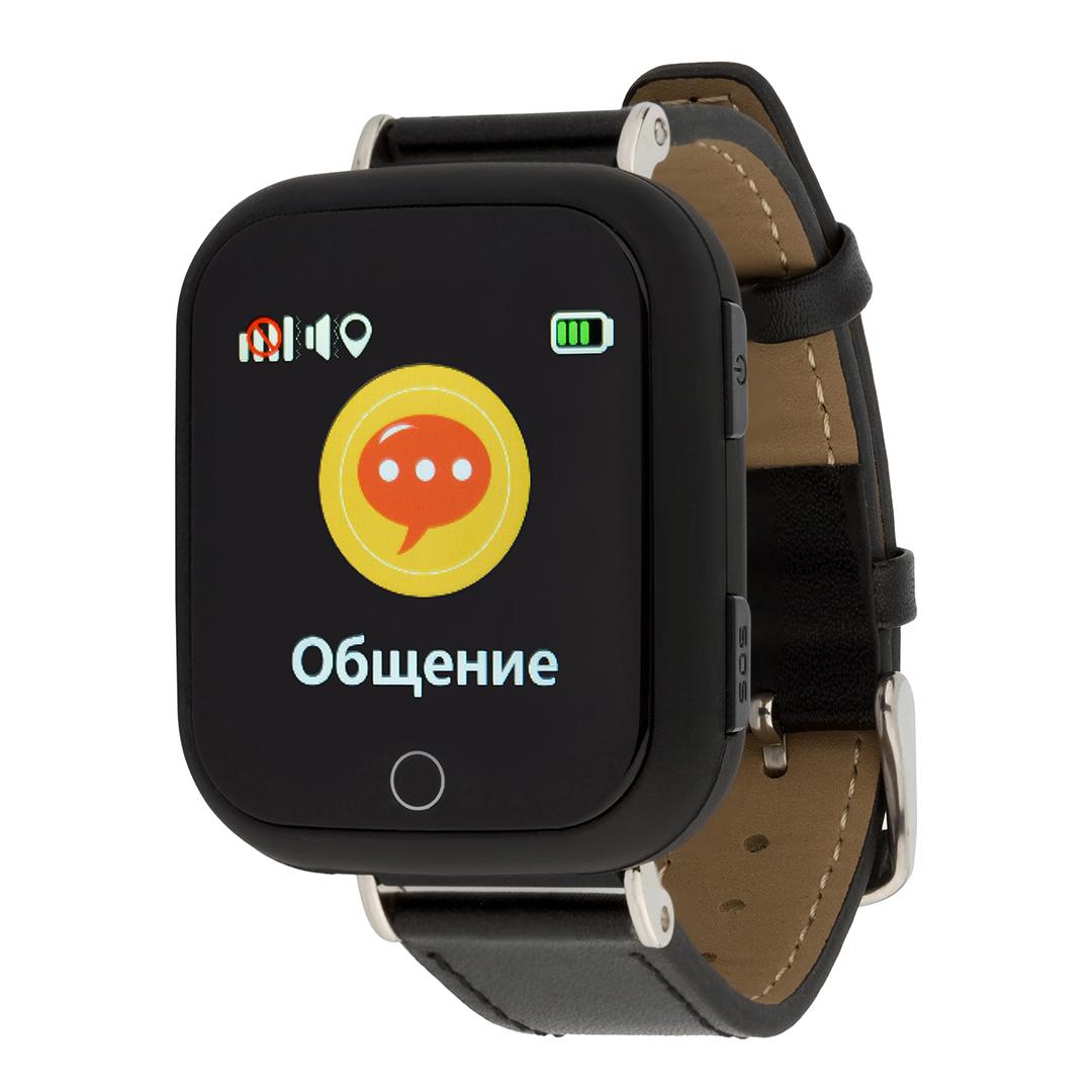 Детские Умные часы Q100s / Черные