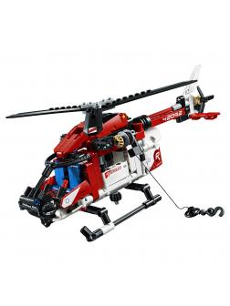 Конструктор JiSi Bricks «Спасательный вертолет» 13385 / 344 детали