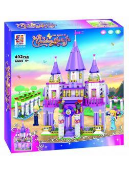 Конструктор JILEBAO Disney Princess «Рапунцель и Принц в замке» 6036 (Disney Princess) / 320 деталей